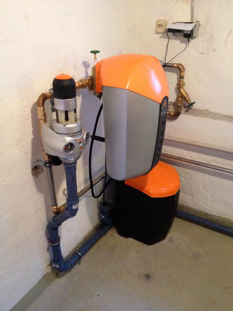 JUDO iSoft Enthärtungsanlage mit Hauswasserstation
