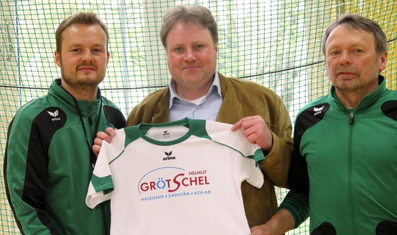 Die Firma Helmut Grötschel engagiert sich als Sponsor beim TSV Grünwald